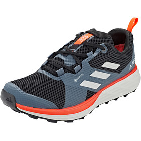 adidas TERREX Two Gore-Tex Zapatillas Trail Running Hombre, core black/grey two/solar red